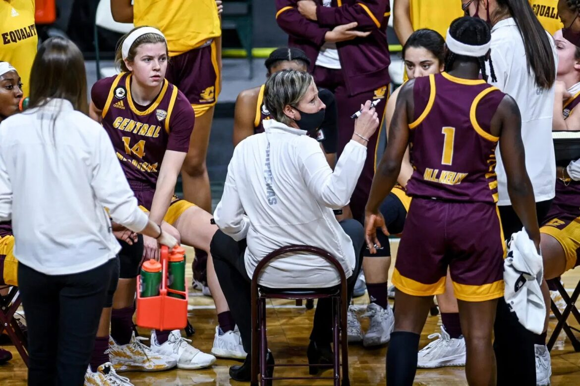 Kelly, Davis lead Central Michigan women to MAC title